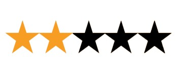 Image result for two out of five stars